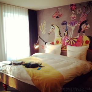 номер категории M room в 25hours Hotel beim MuseumsQuartier